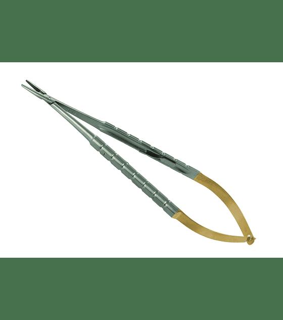 Castroviejo Needle Holder T/C 18cm - Straight