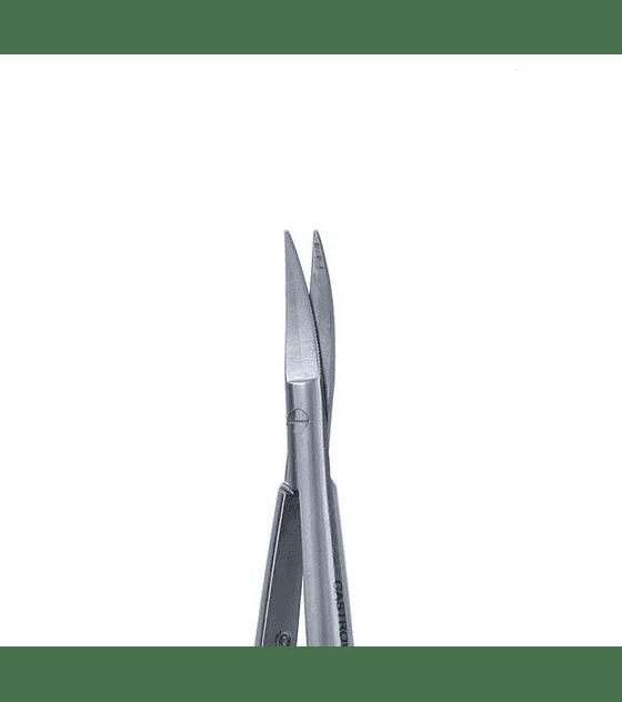 Castroviejo Scissors T/C 15cm - Curved