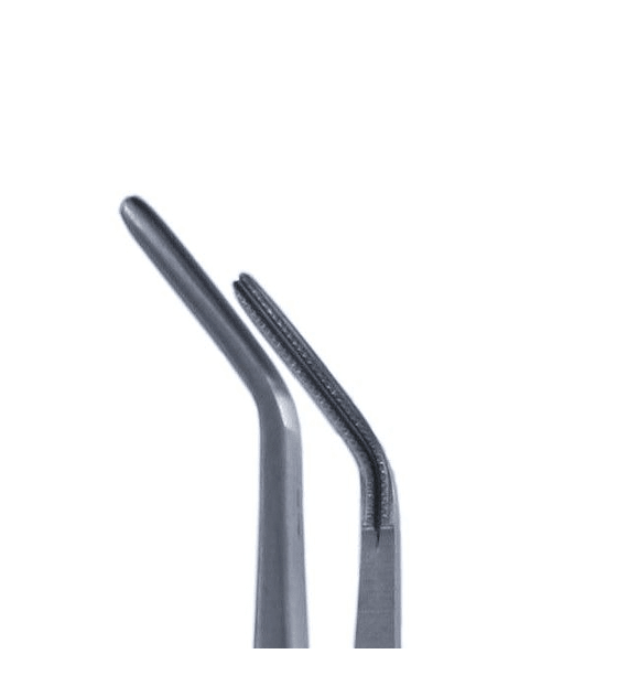 Debakey Atraumatic Forcep 18cm - Curved