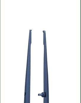 Gerald Delicate 1x2 18cm (Blue Titanium) - Straight