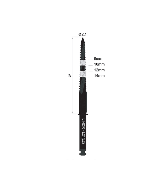 Lindeman Drill 2.1mm - Long