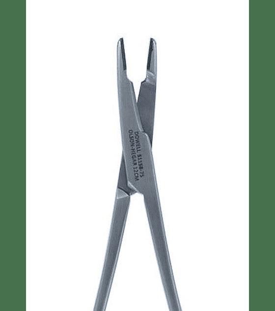 Olson-Hegar Needle Holder 12cm - Straight