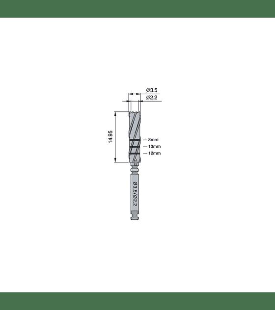 Trephine Bur 3.5/2.22mm