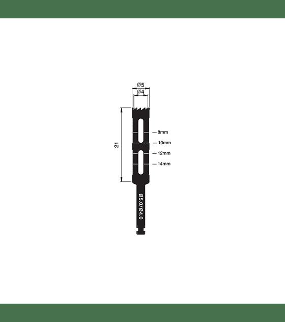 Trephine Bur 5.0/4.0mm