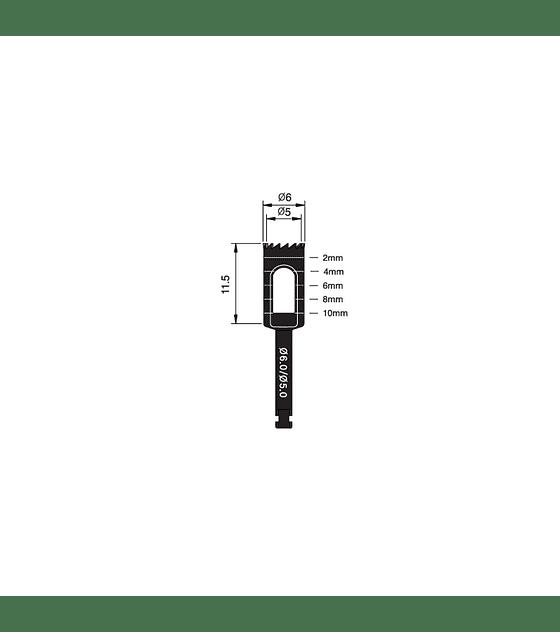 Trephine Bur 6.0/5.0mm