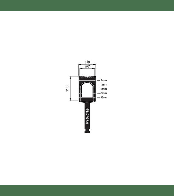 Trephine Bur 8.0/7.0mm