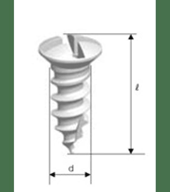 Tornillos Fijacion,  Diametro 1,5 mm