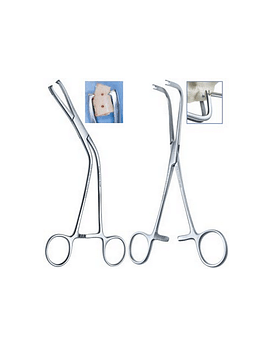 Anterior & Posterior Cortical Block Clamps With Slotted Tips