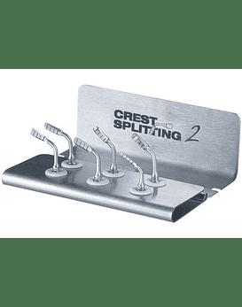 6 Tip Crest Splitting Kit For Piezotome 2