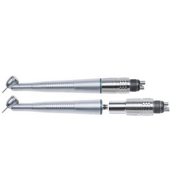 45º High Speed Fiber Optic Handpiece with Connector