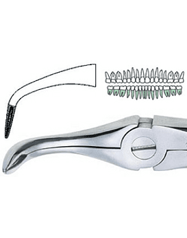 Lower Root Forcep CARBIDE
