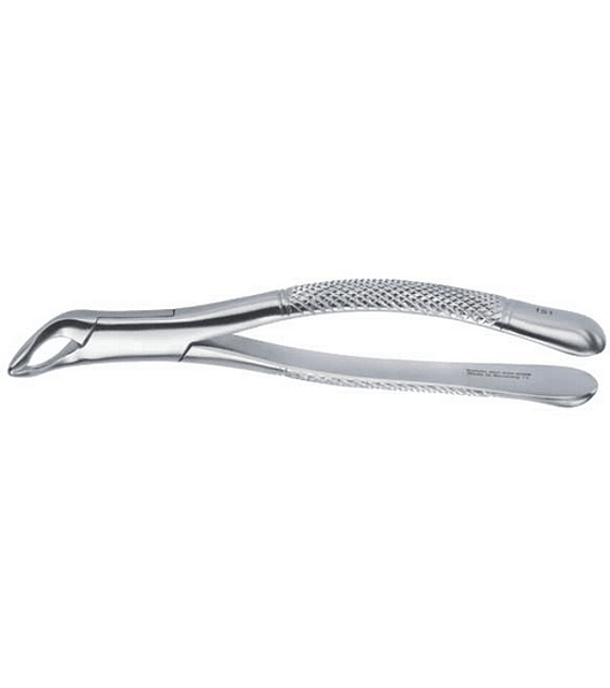 Bayonet Tip Lower Atraumatic Extraction Forcep