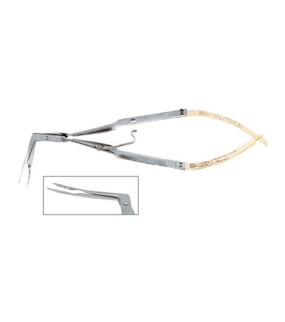 Salvin Tunneling Forcep - Curved Left