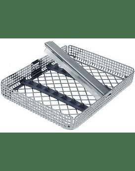 8 Instrument Autoclavable Stainless Steel Instrument Cassette