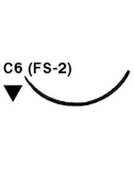 Salvin SurgiPoint 4-0 PGA Suture C6 (FS-2) Needle 27
