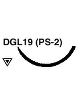 4-0 Monoderm Suture DGL19 (PS-2) Needle 18