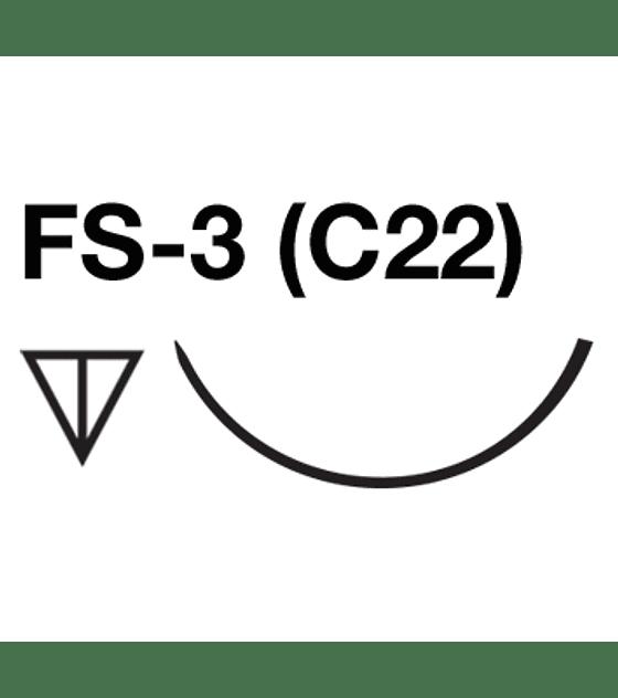 Salvin SurgiPoint Polypropylene Suture - 5-0 FS-3 (C22) Needle