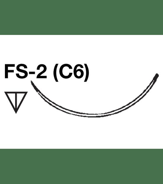 Salvin SurgiPoint Polypropylene Suture - 5-0 FS-2 (C6) Needle