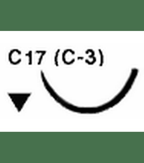 Salvin SurgiPoint Polypropylene Suture - 6-0 C17 (C-2) Needle 10