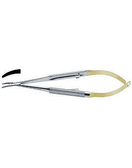 Micro Castro Needle Holder - Curved Tips