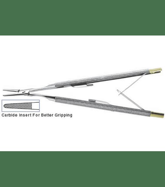 Castroviejo Needle Holder - Straight Handle