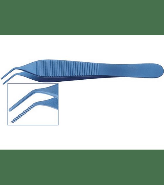 Adson Titanium Curved Tissue Forceps
