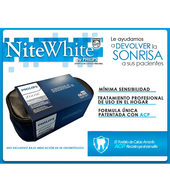 Nite White Spa Bag 6 Jeringas