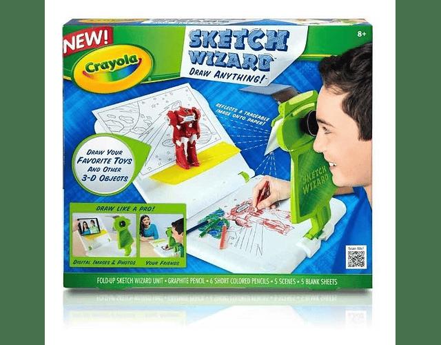 Crayola Set Proyector Sketch Wizard