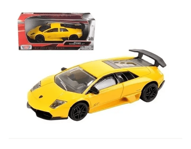 Lamborghini Murcielago Lp 670-4 Sv - Motormax 1:24 Amarillo