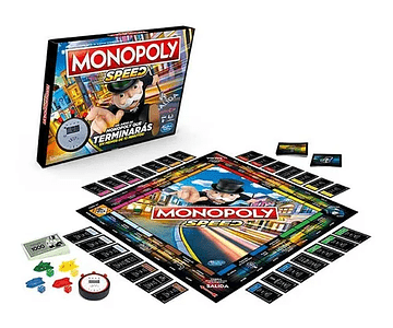Hasbro Juego Monopoly Speed