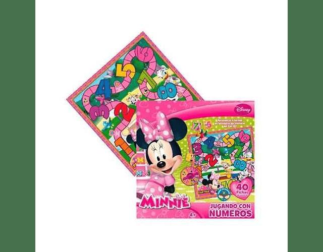 Minnie Set Jugando Con Los Numeros Edad 4años