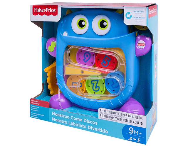 Fisher Price Mounstro Come Discos