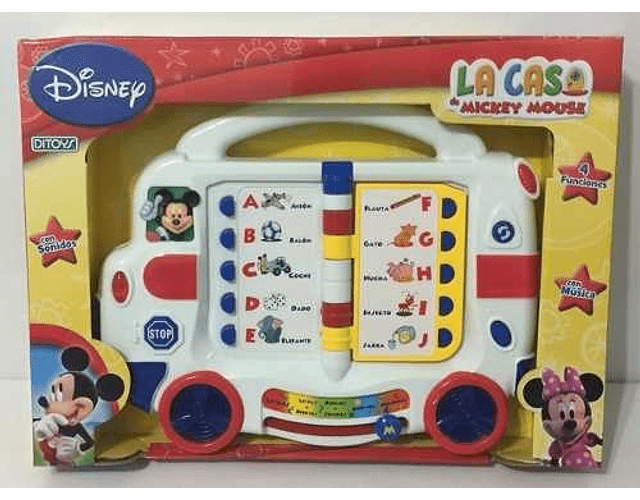 La Casa De Mickey Mouse Autobus Interactivo