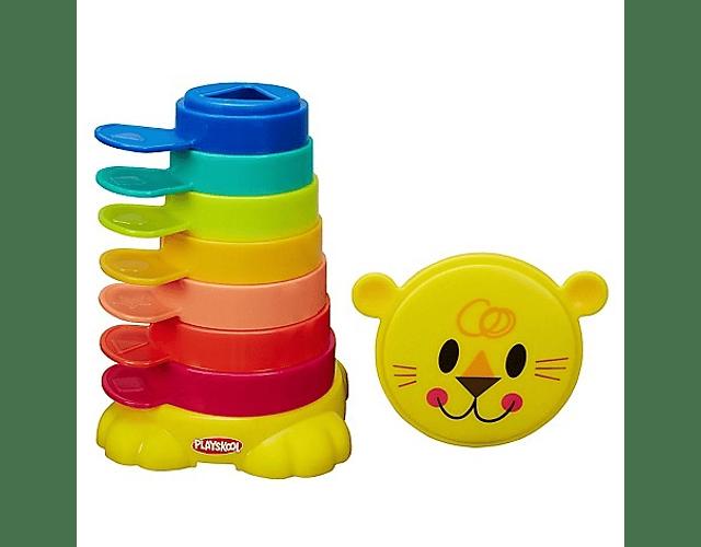 Playskool Leon Torre De Tacitas Producto Nuevo Sellado
