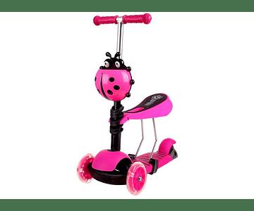 Scooter 3 En 1, 2 A 5 Años Colores disponibles fucisa, verde y rojo