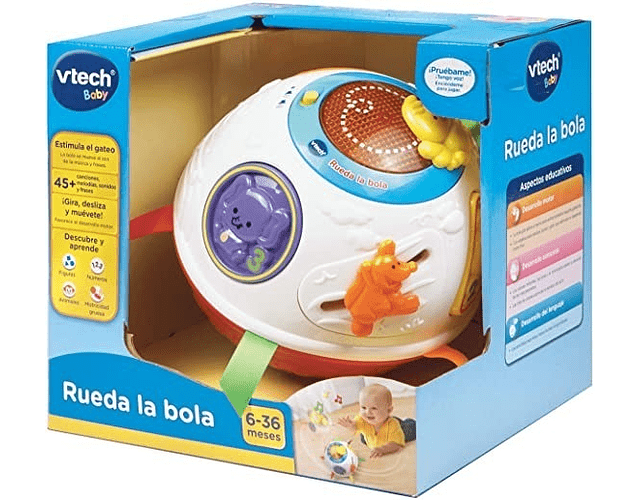 Vtech Juguete Interactivo Rueda La Bola!