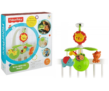 Fisher Price Movil Musical Crece Conmigo