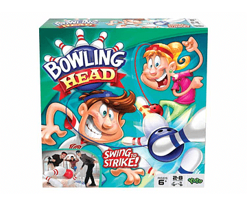 Boowling Head Juego De Mesa Familiar