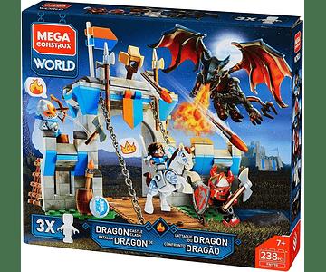 Mega Construx Set Batalla Del Dragon 238 Pcs