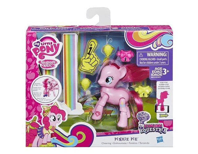 My Little Pony Pinkie Pie Articulada