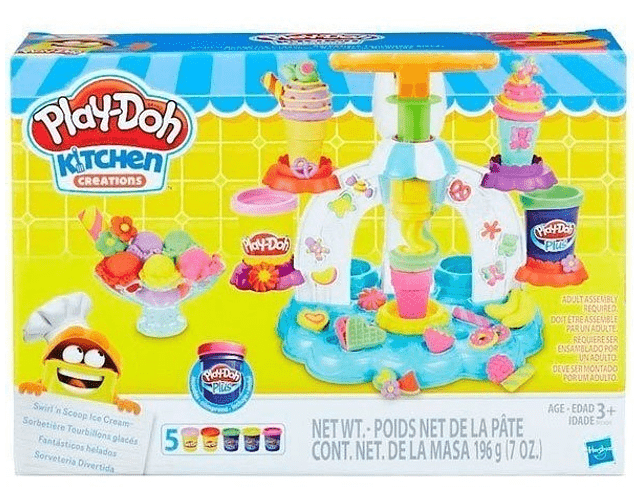 Playdoh Set Fantásticos Helados