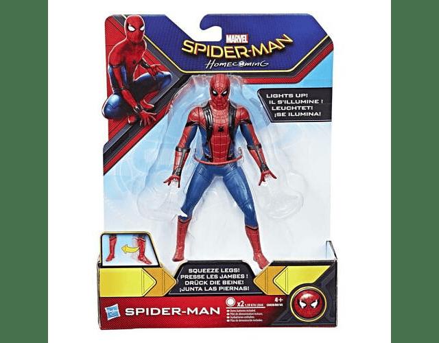Spider-Mann Deluxe Figura C0420 Figura ca.15 cm Siderman con Led