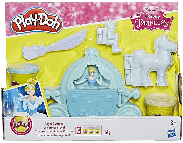 Play Doh - Carruaje Real de Cenicienta