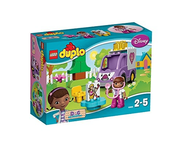 Lego duplo - La Ambulancia Rosie De La Doctora Juguetes 10605