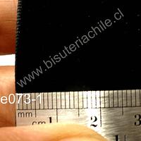 Cinta de terciopelo negro 31 mm, se vende por metro