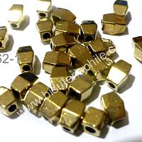 Separador dorado de 6 x 4 mm, set de 32 unidades