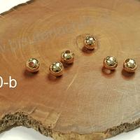 Separador baño de oro de 6 mm, set de 6 unidades