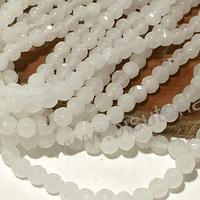 Agatas, Agata de 4 mm, en tono blanco 89 piedras aprox