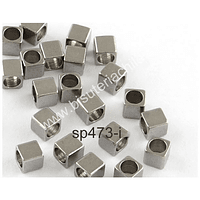Separador acero quirúrgico, 2,5 x 2,5 x 2,5 mm, set de 10 unidades