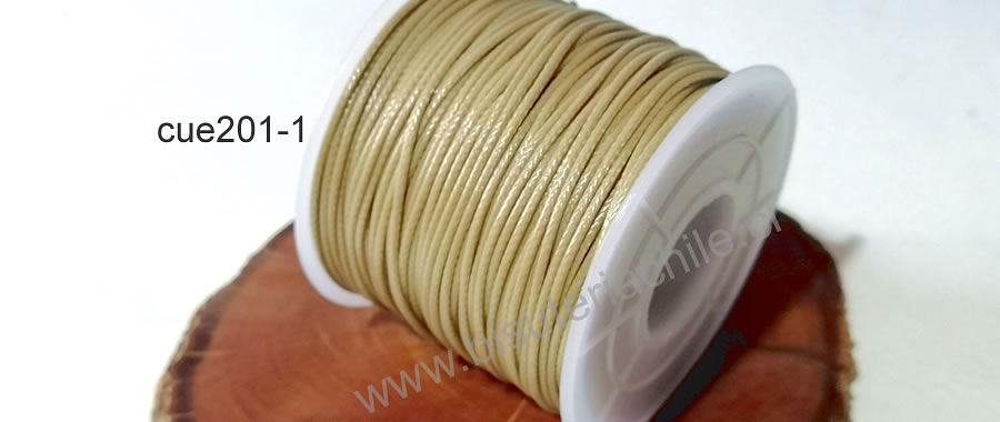 Simil cuero beige, 1 mm de espesor, rollo de 50 metros